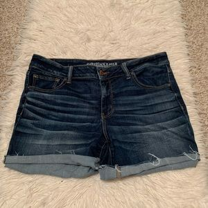 American Eagle Midi Jean Shorts Size 18